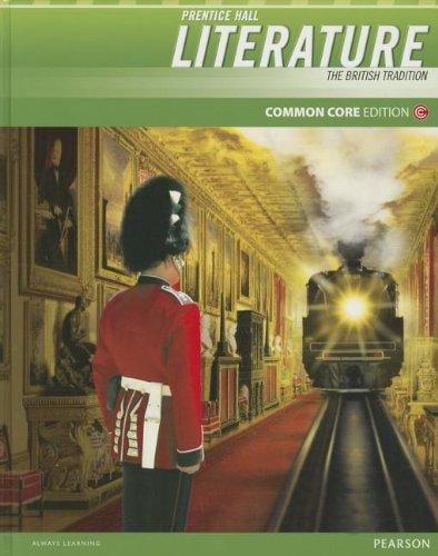 Prentice Hall Literature 2012 Common Core Student Edition Grade 12