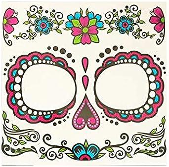 Partylandia Tatuaje FX Catrina Rosa - Halloween, Maquillaje ...