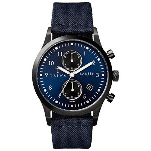 triwa-lansen-chrono-wrist-watch-w-canvas-band-navy