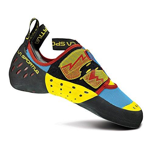 La Sportiva Men's Oxygym Climbing Shoes - Blue / Red - 44.5