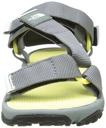 Yellow Sandal Sandalias Mujer Chiffon The Gris Litewave Grey Monument Deportivas North W Face para wxFOIaqf