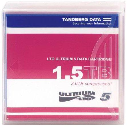 2CQ4904 - Tandberg Data 433955 LTO Ultrium 5 Data Cartridge with Case by TANDBERG DATA