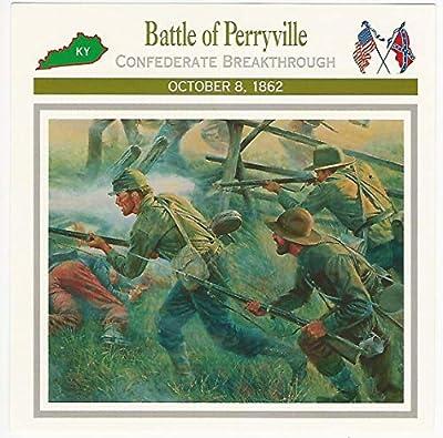 1995 Atlas, Civil War Cards, 15.07 Battle of Perryville, Kentucky
