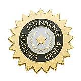 Set of 100 Lapel Pins - Employee Attendance Award