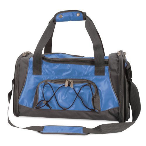 Sherpa Sport Duffle Pet Dog Cat Airline Approved Carrier Medium Blue 18