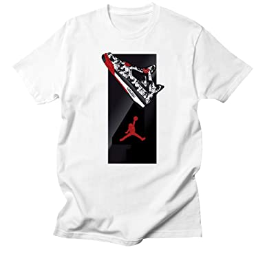 Custom T Shirt Matching Style Of Nike Air Jordan 4 Tattoo Jd 4 8 7