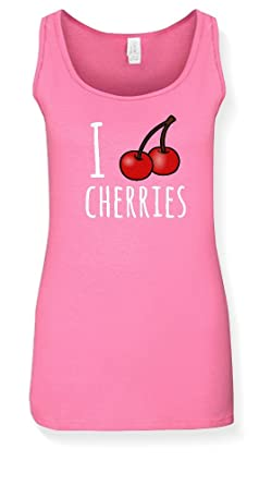 0401c81ba7b4e5 I Love Cherries Tank Top
