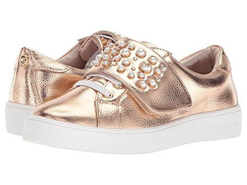 Michael Kors Girls' Ivy Chic-T Metallic Pearl Stud Fashion Shoes Rosegold 6C