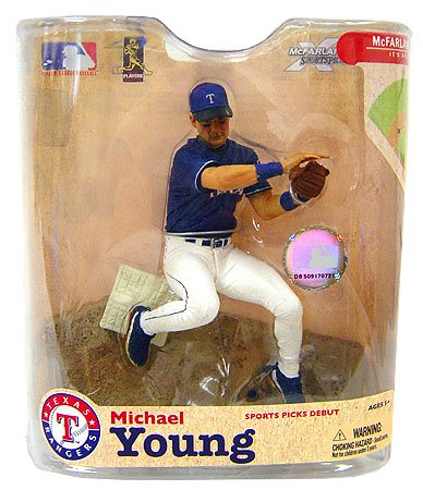 s MLB Series 21: Michael Young - Texas Rangers (Michael Young Game)