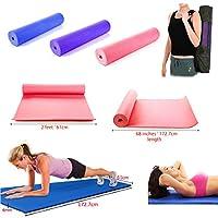 JJOnlinestore- 6 mm, lila, 173 x 61 cm, Gymnastik, Fitness, Pilates,...