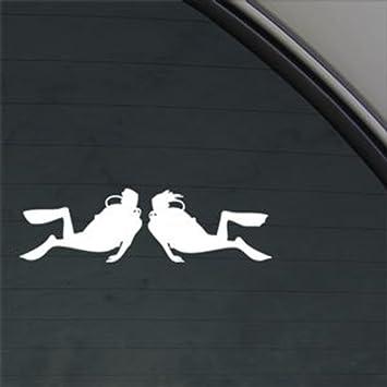 Diving Flag Diver Vinyl Sticker Decal Car Laptop Window Wall