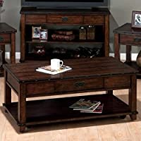 Jofran Coffee Table in Cassidy Brown Finish