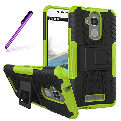 Shockproof Armor TPU/PC Case for Asus Zenfone Max (Black) - 5