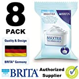 8 X Brita Maxtra Water Filter Refills Cartridges Pack Wf0400 Free Shipping