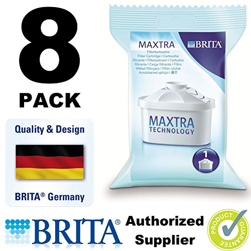 8 X Brita Maxtra Water Filter Refills Cartridges Pack Wf0400 Free Shipping by Brita