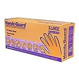 Adenna Handy Guard Vinyl Powdered Gloves (Translucent, X-Large)