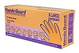 Adenna Handy Guard 3.5 mil Vinyl Powdered Gloves (Translucent, X-Large) Box of 90