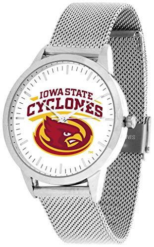Iowa State Cyclones - Mesh Statement Watch - Silver Band
