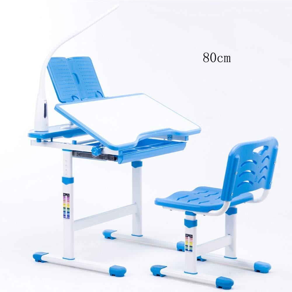 WGG Mesa Silla de escritorio para niños Set de altura ajustable ...