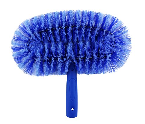 Oval Duster Brush (Ettore 48211 Ceiling Fan Brush with Click-Lock Feature)