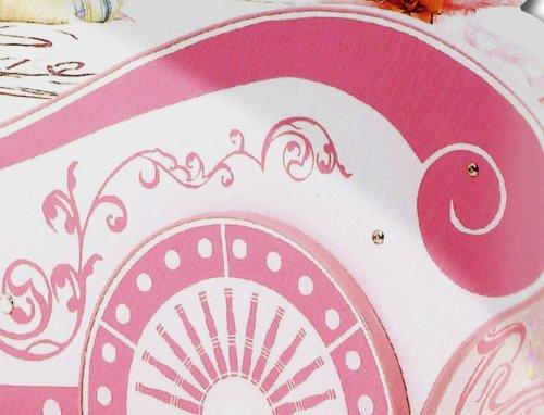 Mädchenbett Prinzessin Kutschenbett Autobett Prinzessinnenbett ...