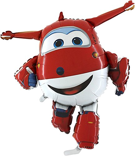 Toyland Super Wings Jett Airplane Foil Balloon