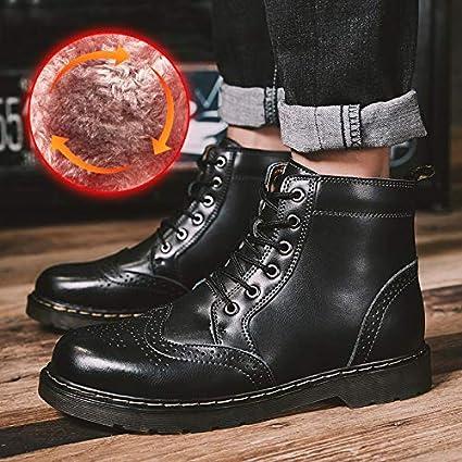 e83b78971a928 Amazon.com: Blue Stones Work Boots Men Winter Shoes Warm Plush Boots ...