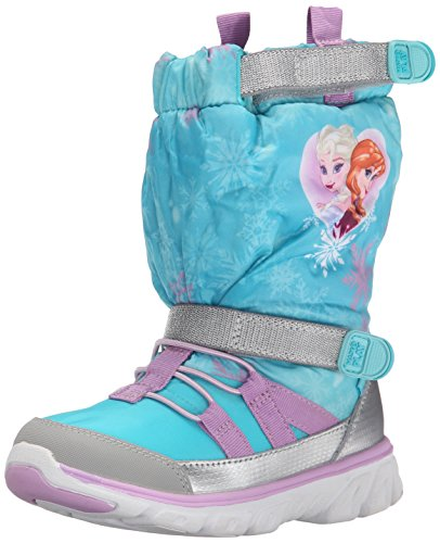 Stride Rite Made 2 Play Sneaker Winter Boot (Toddler/Little Kid), Turquoise/Multi, 7 M US Toddler ()