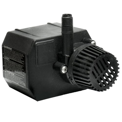 Beckett Pond Waterfall Pump (Beckett G210AG 210 GPH Small Pond Pump, 115-Volt)
