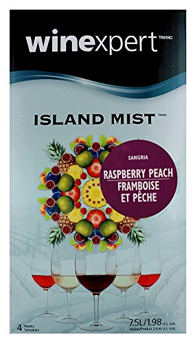 Home Brew Ohio Island Mist Raspberry Peach Wine Kit