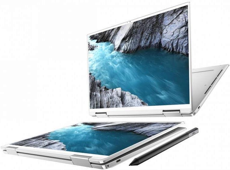 "New XPS 13 2-in-1 7390 Intel 10th Gen i7-1065G7 Intel Iris Plus 13.4"" FHD+ WLED Touch (1920 x 1200) Active Stylus Pen + Best Notebook Pen Light (512GB SSD|16GB RAM |W10 Pro) Arctic White (Renewed)"