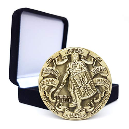 Armor of God High Relief Challenge Coin in