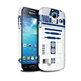 unit phone case - STUFF4 Gloss Hard Back Snap-On Phone Case for Samsung Galaxy S4 Mini/Blue R2 Unit Design/Astromech Droid Collection