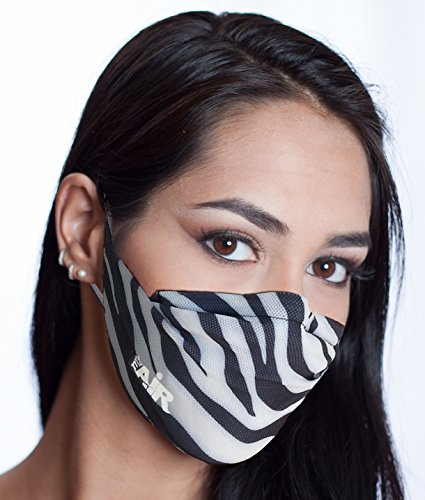 MyAir Comfort Mask, Starter Kit in Zebra - Made in USA. IDF Donation! by MyAir (Image #8)