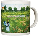 Claude Monet - Poppies at Argenteuil - 14oz Coffee Mug