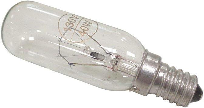 Bombilla vela larga 40W- 240V apta para campana extractora electrodomésticos: Amazon.es: Bricolaje y herramientas