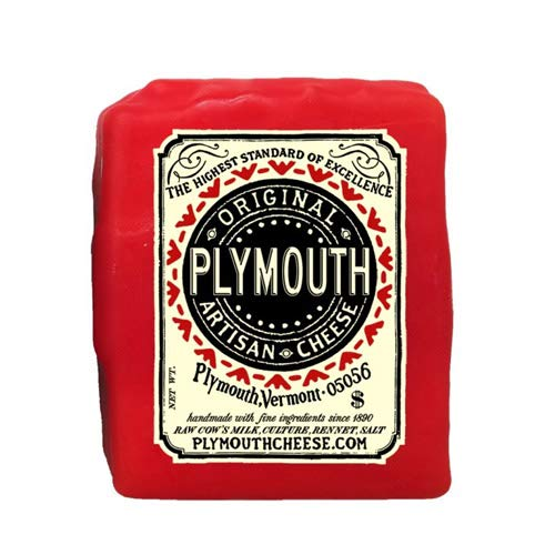 Original Plymouth Artisan Cheddar (8 ounce) made in New England
