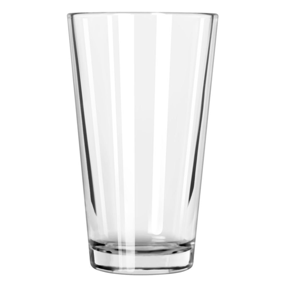 Libbey 5137 Restaurant Basics 20 Ounce Mixing Glass - 24 / CS
