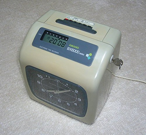 アマノ 電子タイムレコーダーBX-6200-G BX-6200-G B000FHSXES
