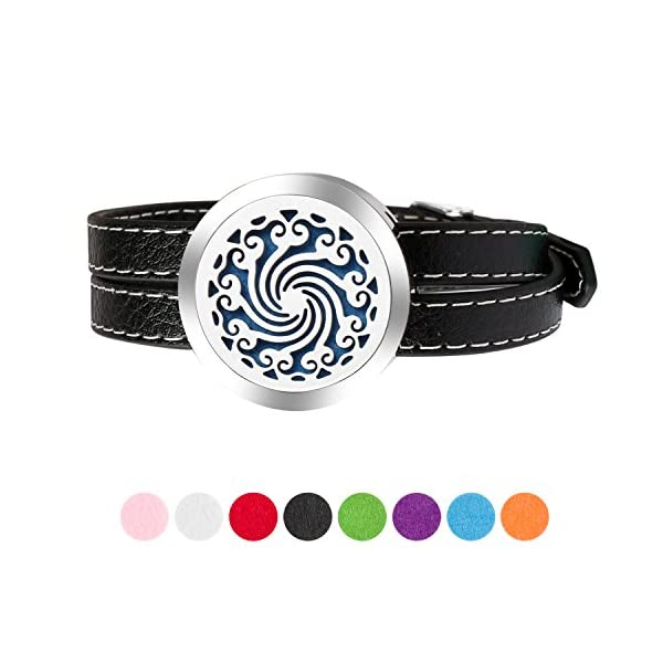 Essential Oil Diffuser Bracelet Leather Band