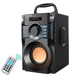 Amazon.com: Portable Bluetooth Speaker 10W Subwoofer Heavy