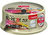 imation BD-RE 25GB 2x Speed 20 Pack Spindle (Version 2010) - Rewritable