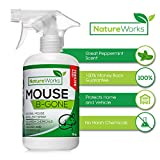 Mouse-B-Gone -All Natural Rodent Repellent Spray- Mice & Rat Deterrent-Eco Friendly Indoor Outdoor