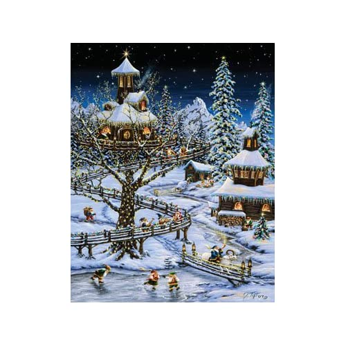 Woodland Holiday Advent Calendar