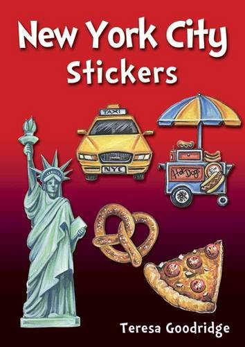 New York City Stickers (Dover -
