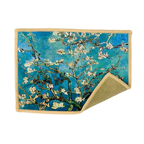 Lynktec Smartie Microfiber Cleaning Cloth for Touch Screens Van Gogh Almond - Branches Glasses