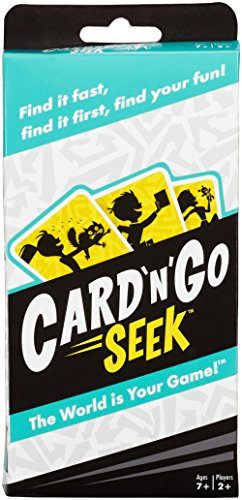 Mattel Games Card 'N' Go Seek Card Game