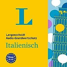 Langenscheidt Grundwortschatz Italienisch Hörbuch von  div. Gesprochen von:  div.