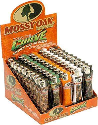 Mossy Oak Curve Lighter Set - 50 pieces
