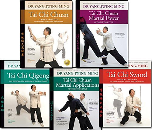 Tai Chi Book Bundle: Yang Tai Chi Master Collection / Tai Chi, Qigong, Sword / 5 Books by Dr. Yang, Jwing-Ming (YMAA) ()